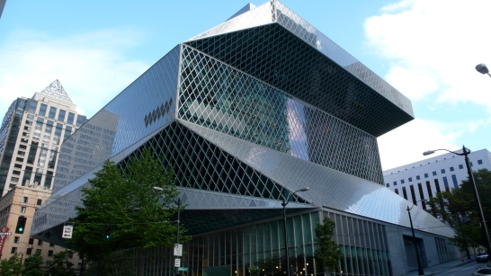 Seattle Public Library, OMA- Rem Koolhaas, 2004