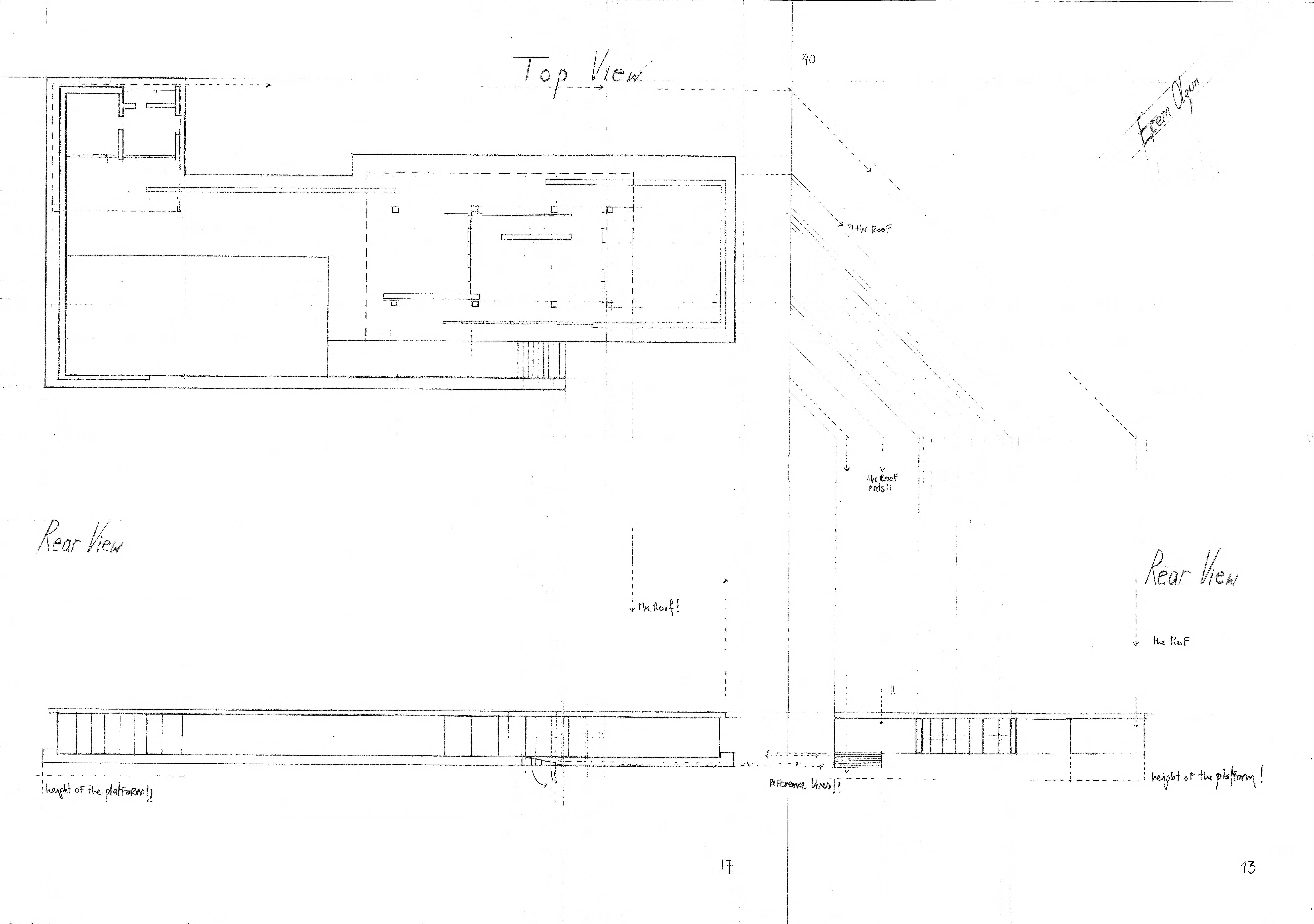 Barcelona pavilion plan dimensions for Site plan dimensions