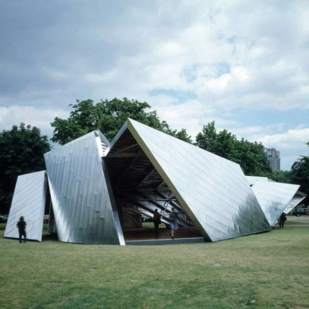 Serpentine Gallery Pavilion, Daniel Libeskind, London, 2001