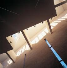A light trough at St. Michael Church & Parish Centre, Helsinki, Finland, 1988, by Käpy and Simo Paavilainen.