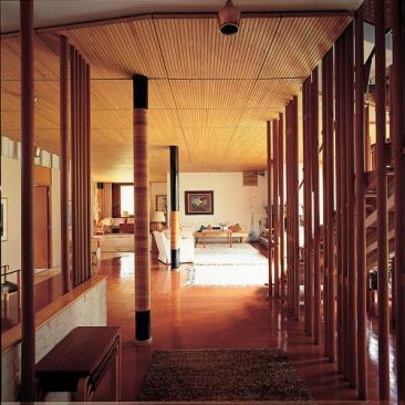 Villa Mairea, Noormarkku, Finland, 1941, by Alvar Aalto