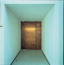 The door of Hospital Chapel, Aalsborg, Denmark, 2000, by Friis & Moltke.
