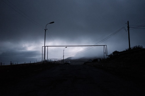 Arrival in an Armenian Town
